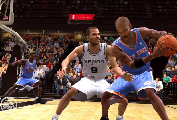 NBA Live 09 Video Game