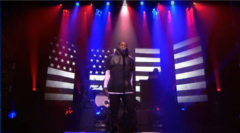 """Lecrae performs on """"The Tonight Show Starring Jimmy Fallon"""""""